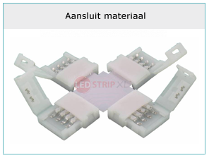 Led strip aansluit materiaal