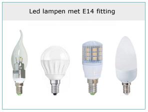 led-lampen-met-e14-fitting