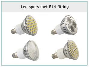 led-spots-met-e14-fitting