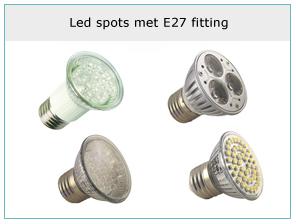 led-spots-met-e27-fitting