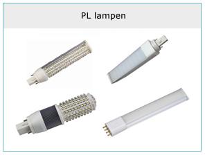 PL lampen in led uitvoering